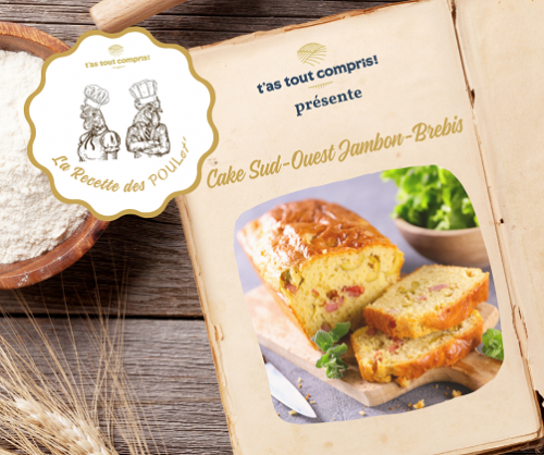 Recette cake jambon fromage 100% Sud-Ouest