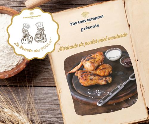 Comment faire du poulet mariné ? La recette sur le blog !