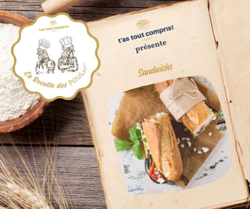 Idées de recettes sandwich avec de bons produits locaux