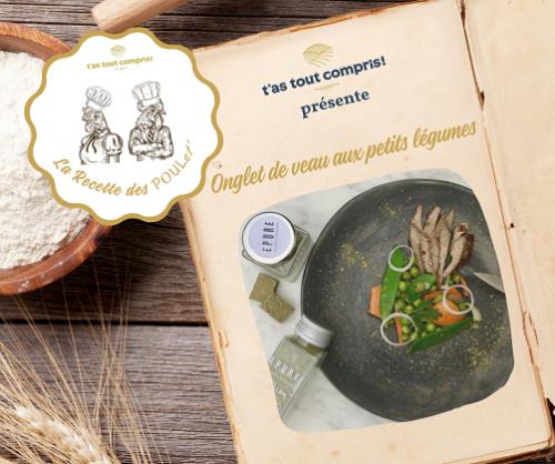 Recette veau fermier aux légumes et bouillon naturel en...